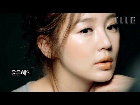 ▶ Yoon Eun Hye 윤은혜 'MAC' 맥 Orange Makeup Collection 2013 - YouTube