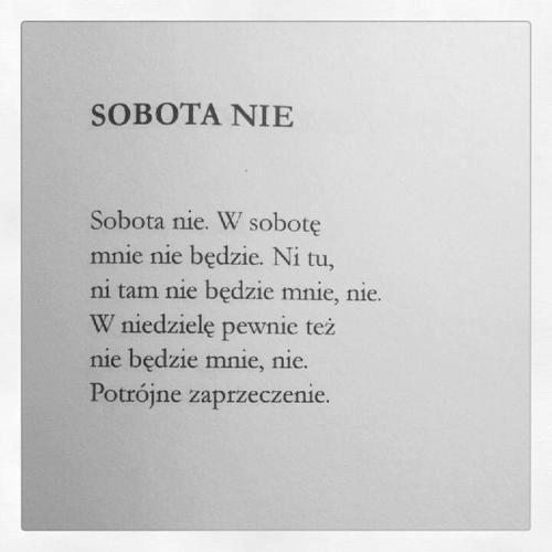 """Marcin Świetlicki z tomu """"Muzyka środka"""""""