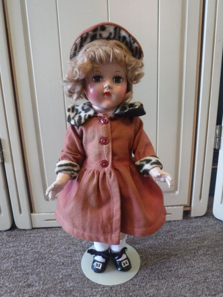 Hard Plastic Doll Mohair Wig Wool Coat Original?. found in local estate tied in Sayco box. wig is sparse at back. the doll itself has no noted makers marks. doll has some white residue/discoloration to face, hands. | eBay!