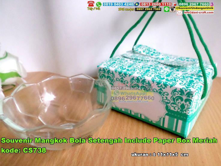 Souvenir Mangkok Bola Setengah Include Paper Box Meriah 0896.3012.3779  (WA/SMS/Telp) PIN BBM: 5c8 62 c4b #SouvenirMangkok #HargaMangkok #desainundanganPernikahan #ContohUndanganSouvenir Mangkok Bola Setengah Include Paper Box Meriah