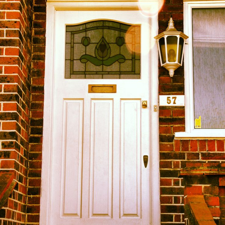 This 1920s white door is well suited to this style of brick and property. & 10 best London Door Company - Timeless White images on Pinterest ...