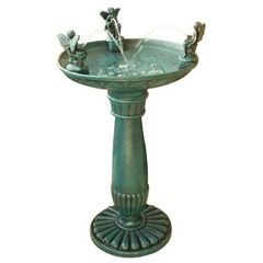 traditional bird baths by Hayneedle