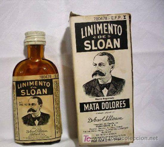 Linimento de Sloan: Mata dolores El tío del bigote : )