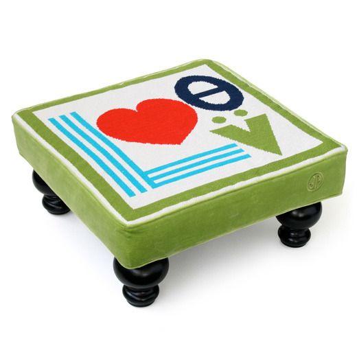 Cute footstool idea