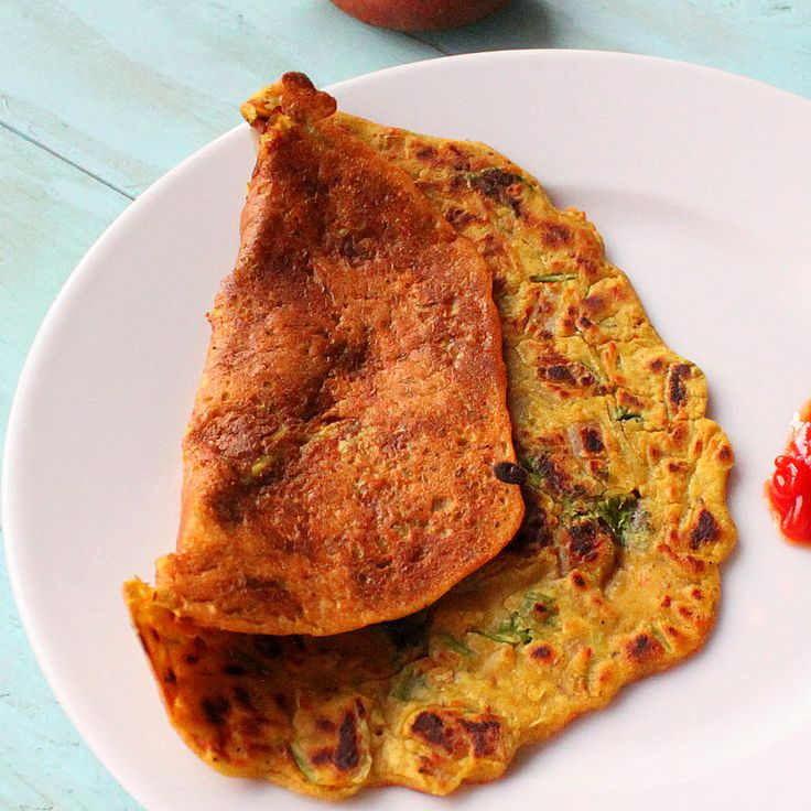 Besan Chilla /Puda (chickpea flour Omelette/pancake) and savory french toasts. vegan, glutenfree - Vegan Richa