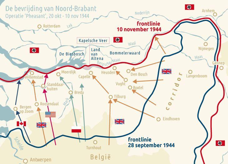 Bevrijding Brabant niet zonder slag of stoot