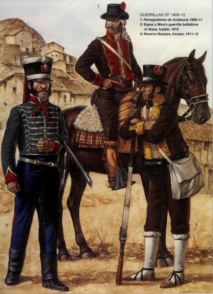 Guerra de la Independencia. Guerrilleros