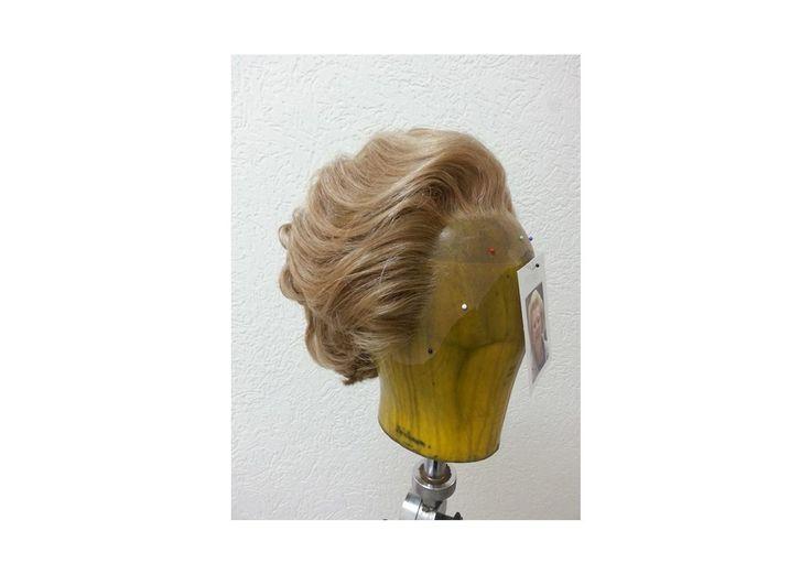Auftragsarbeit Perückenstyling nach Kundenfoto Margaret Thatcher von Ilka Küting Fen Fire Art