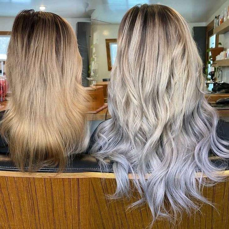 Grey Ombré Haare färben: 6 Ideen für coole Farbverläufe ...