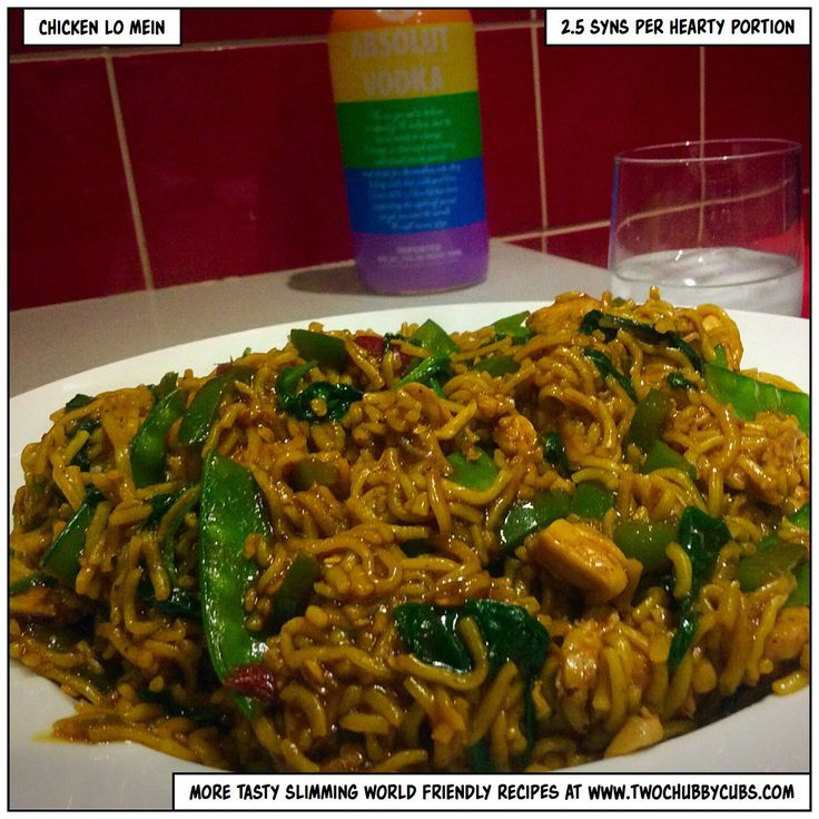 This spin on chicken chow mein mixes it up, creating a chinese chicken lo mein that is low in syns, high in taste and perfect for Slimming World. Remember, at www.twochubbycubs.com we post a new Slimming World recipe nearly every day. Our aim is good food, low in syns and served with enough laughs to make this dieting business worthwhile. Please share our recipes far and wide! We've also got a facebook group at www.facebook.com/twochubbycubs - enjoy!
