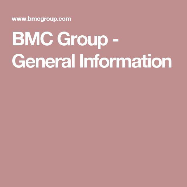 BMC Group - General Information