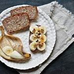Bezlepkový+banánový+chlebíček