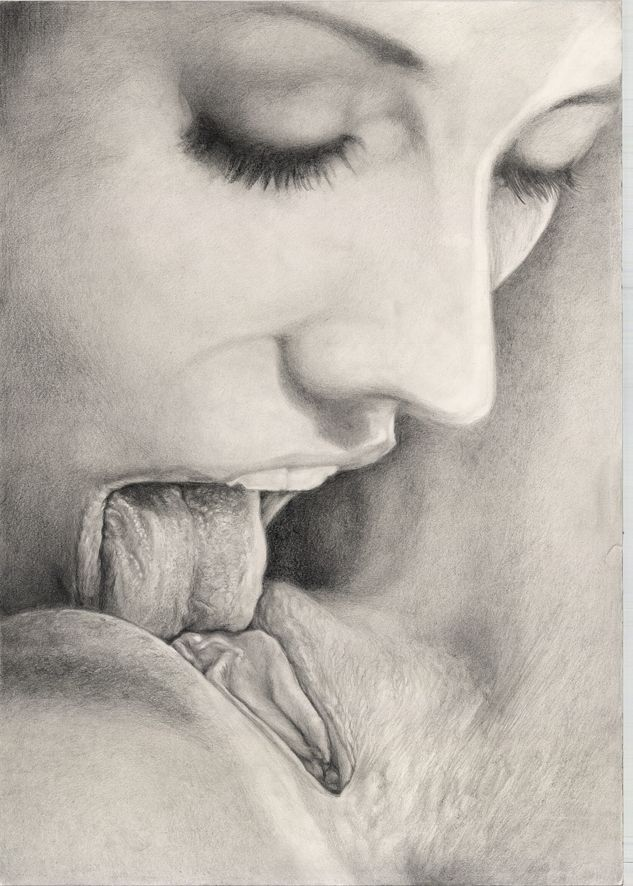 Lips - pencil on paper 2015