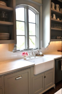 grey cabinets....im pondering on it!