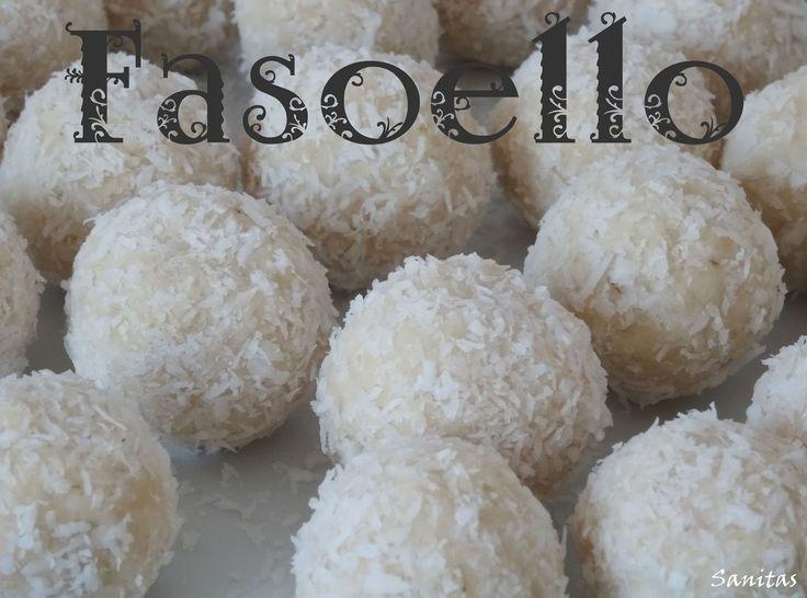 fasoello rafaello dietetyczne lekkie light odchudzone niskokaloryczne kokosowe kulki kuleczki zdrowe słodycze