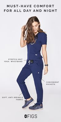 Modern, tailored scrubs that feel amazing! Upgrade your scrubs today and receive FREE shipping. Shop Now!