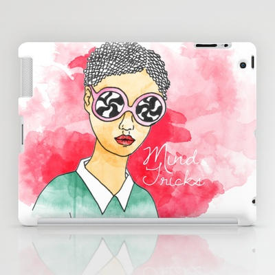 Mind Tricks iPad Case by Eltina Giannopoulou - $60.00