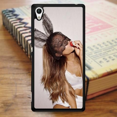 Ariana Grande Cute Rabbit Sony Experia Z4 Case