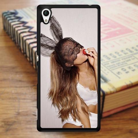 Ariana Grande Cute Rabbit Sony Experia Z4 Case