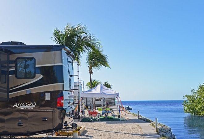 Fiesta Key Rv Resort Encore Rv Resort In Long Key Florida Florida Camping Lake George Camping Camping N