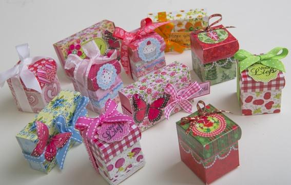 Verzameling Little Boxes bij elkaar.