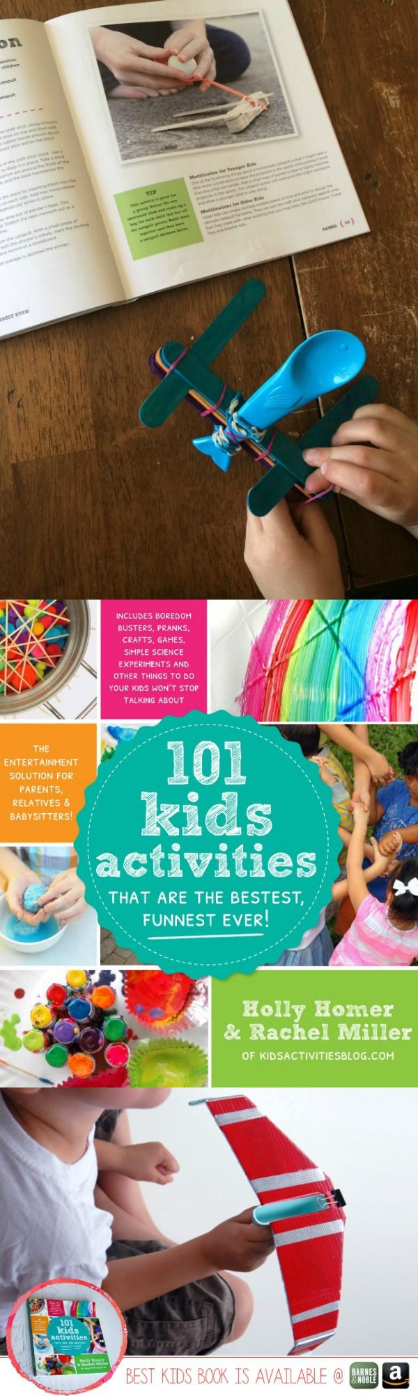 101 Kids Activities -- have you seen this book? It's been a real sanity saver for us this summer.