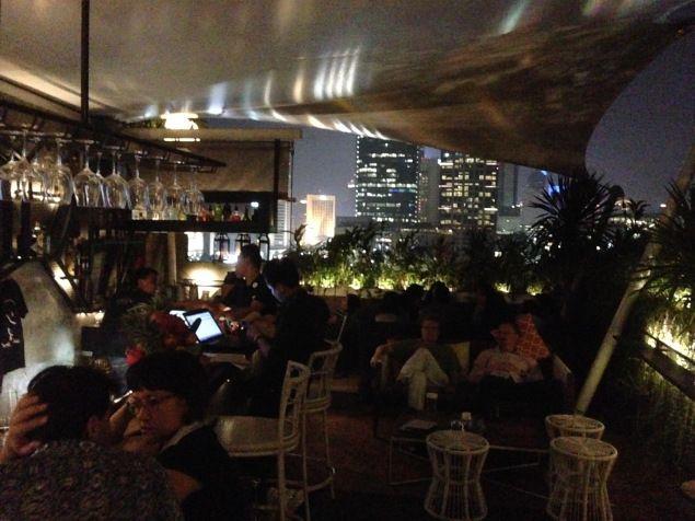 Awan Lounge rooftop bar, Jakarta