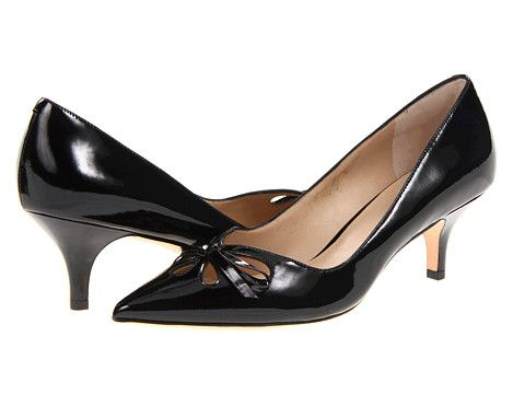 """I love this shoe, super comfortable, stylish and VERY flattering.  Great choice if you can't do a high heel, it's a low heel with a """"high heel look""""!  Joan & David Gardner"""
