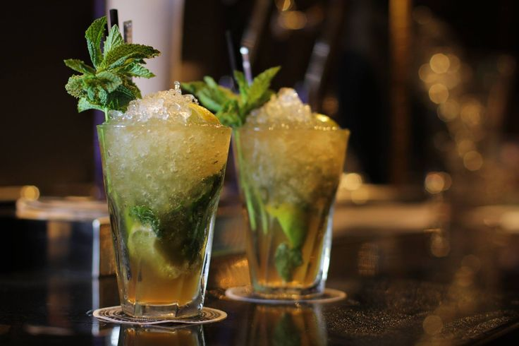 Mojitos at Hard Rock Hotel Ibiza are best enjoyed at The Ninth, an enormous rooftop sky lounge with 360-degree views.