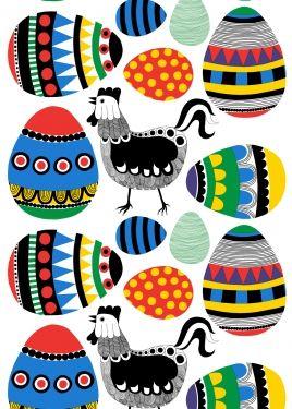 Marimekko fabric Rairai by Marja Louekari