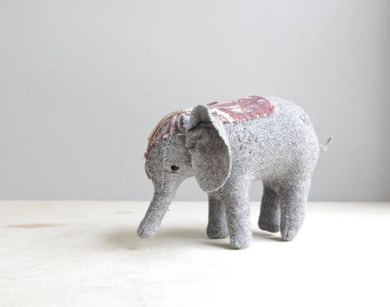 circus elephant / soft sculpture animal