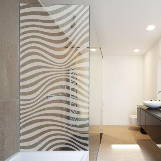 Les 68 meilleures images du tableau paroi de douche sur pinterest autocollants decoration - Porte douche serigraphie ...