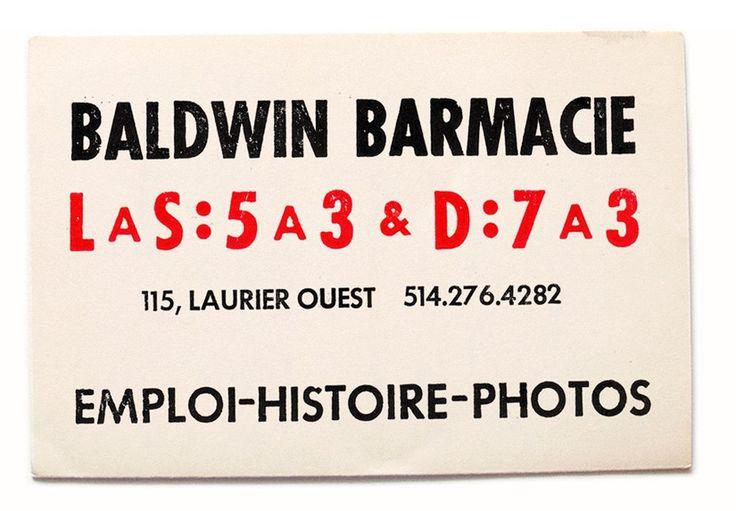 Baldwin Barmacie    115, Laurier Ouest - Montréal