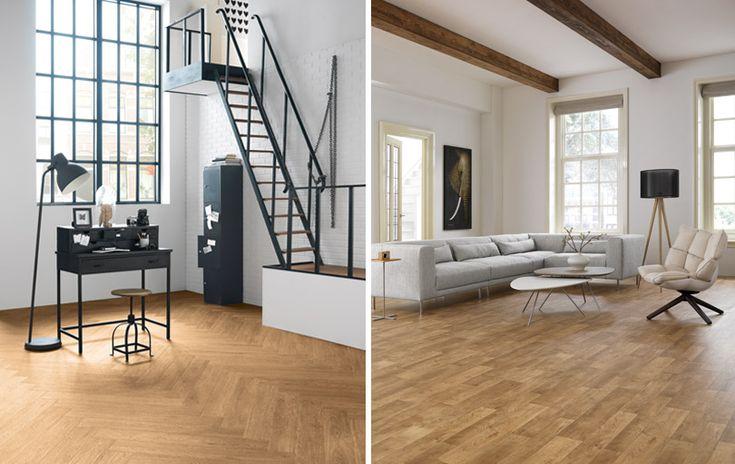 Met de vloeren van Forbo kun je alle kanten op. Of je nu houdt van strak of van de warme uitstraling van hout. De mooiste voorbeelden voor je op een rij.