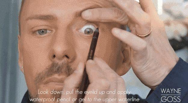 Ojos más grandes con la técnica de tightlining.
