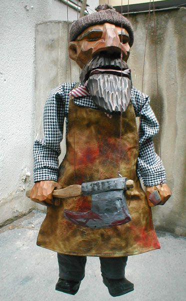 Butcher Puppet - Google Search