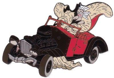 Cruella Deville in Her Car | Disney Pin WDCC 101 ... Cruella Deville Car Disney