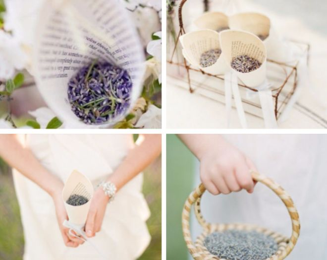 Collage lavendel