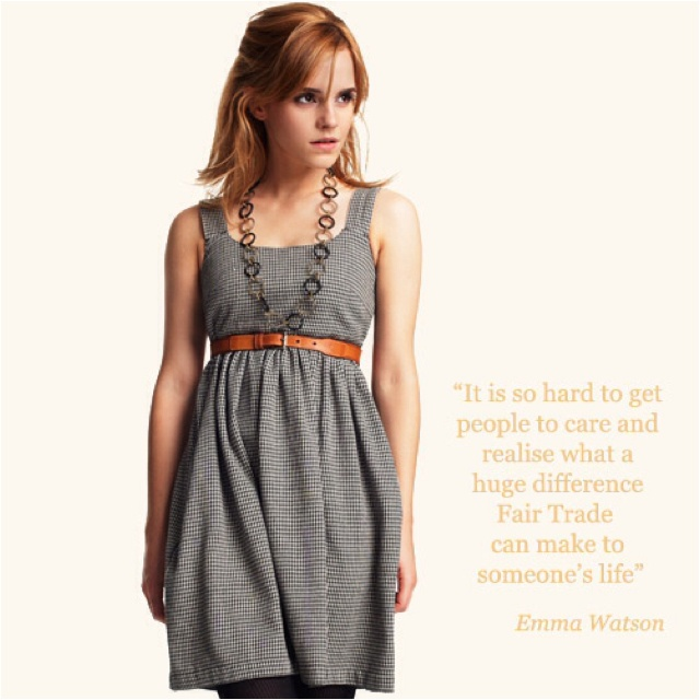 Emma Watson for People Tree