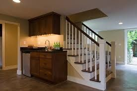 Image result for before and after opening up basement staircase