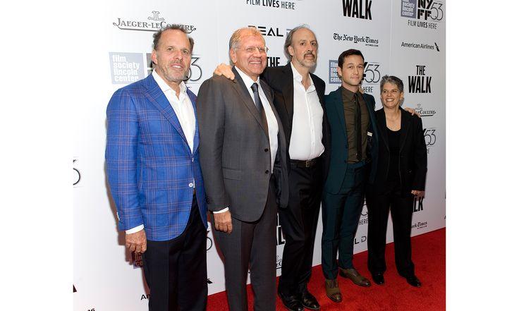 Executive Director Lesli Klainberg shares snapshots from opening night Pictured: 5:20 pm With Jack Rapke, Robert Zemeckis, Kent Jones and Joseph Gordon-Levitt.