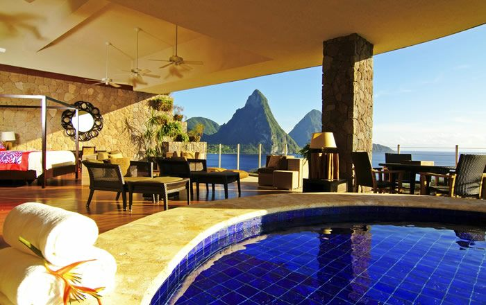 Jade Mountain | St. Lucia. Honeymoon location, 7 months couldn't pass by any quicker