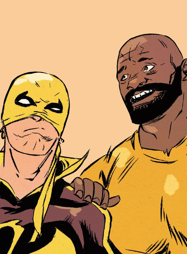 The Heroes for Hire in Power Man and Iron Fist #2