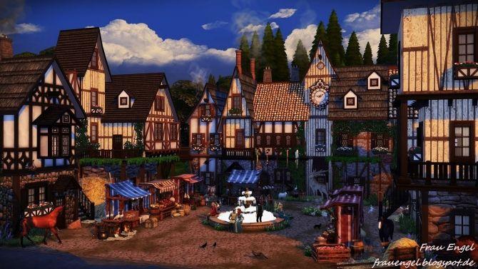 Medieval Bakery at Frau Engel • Sims 4 Updates
