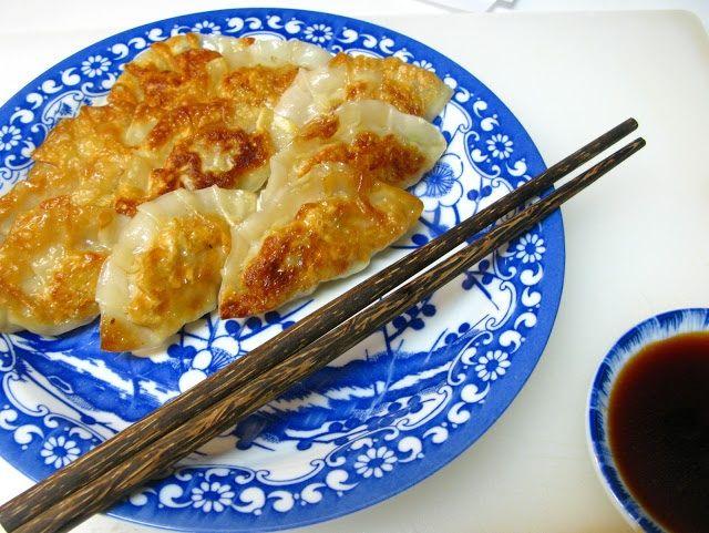Gyoza - Japanese Pan-Fried Dumplings - - Dumplings; whether gyoza ...