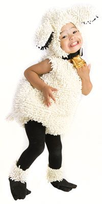 Baby and Toddler Lovely Lamb Costume - Baby Animal Costumes