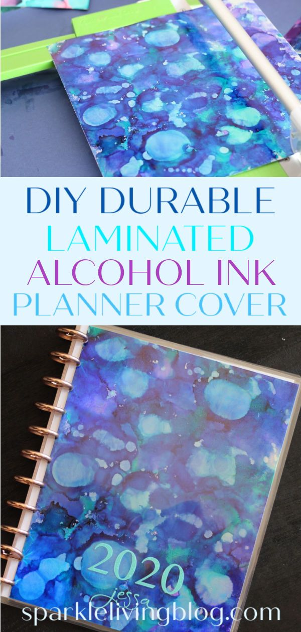 Create Your Own Durable Planner Cover With A 10 Mil Laminate Of Course You Can Design Your Own Cover Or You Can Follow T In 2020 Planner Cover Planner Sparkle Crafts