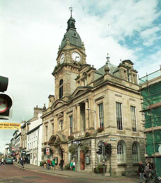 Kendal Town hall. Pic F166P4.  England #england