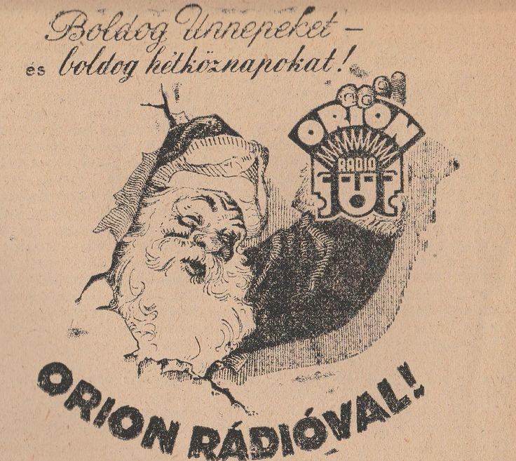 Karácsonyi ORION reklám
