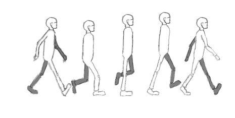 Любимому мужу, картинки для анимации ходьбы человека